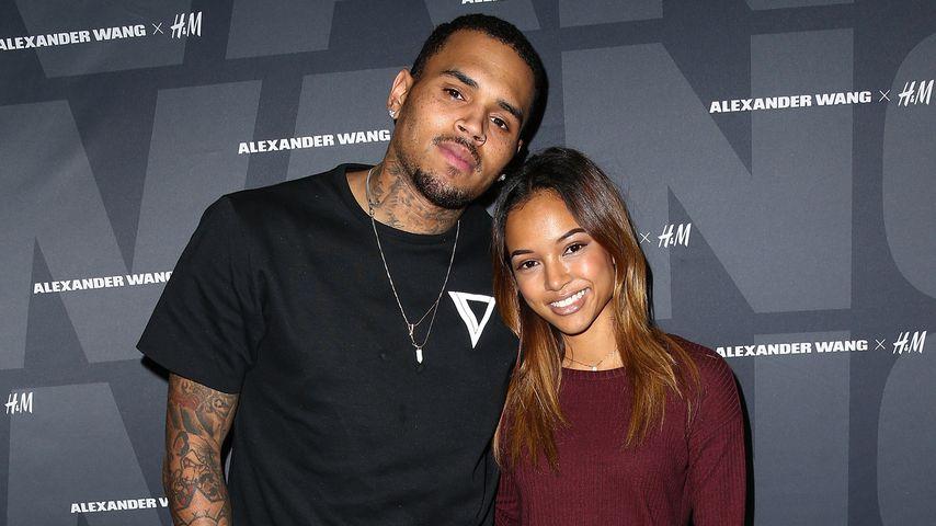 """Totaler Absturz? """"Oben ohne"""" verläßt Chris Brown einen Club"""