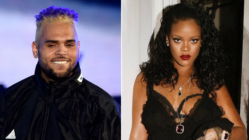 Annäherung: Chris Brown kommentiert Rihannas sexy Insta-Pics