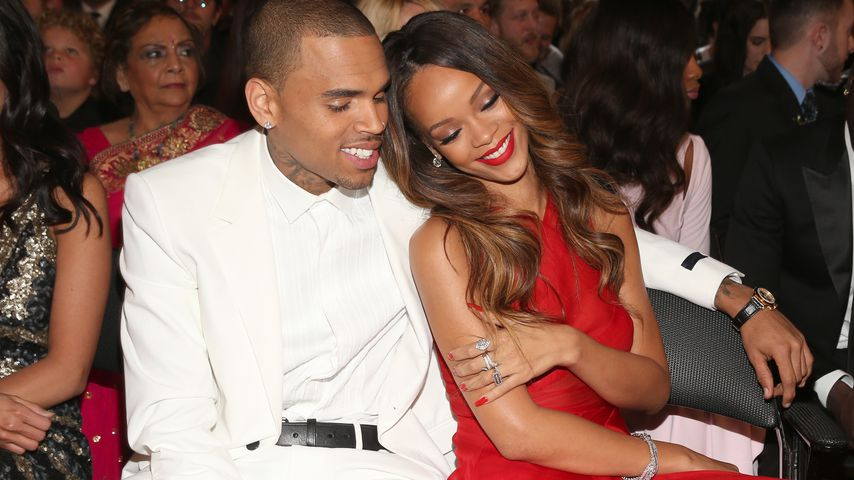 Chris Brown und Rihanna, 2013