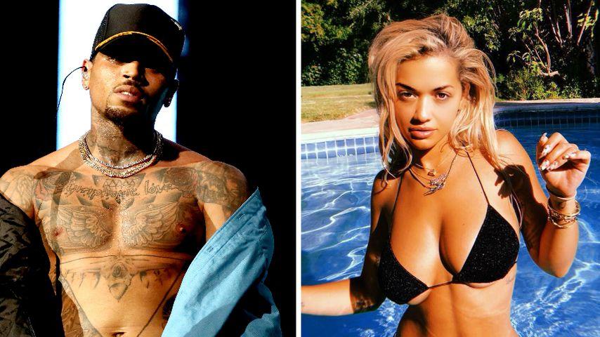 Bagger-Offensive: Chris Brown steht auf Ritas heiße Kurven!