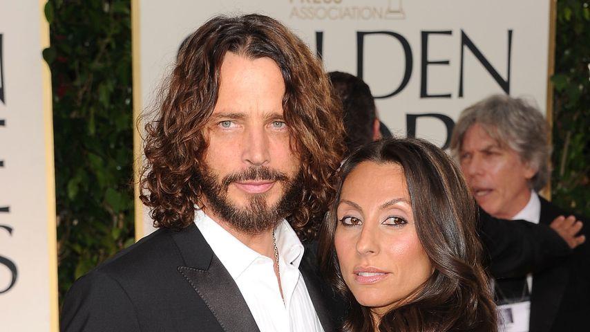"""Tut mir leid"": Chris Cornells (†52) Witwe rührt mit Brief!"