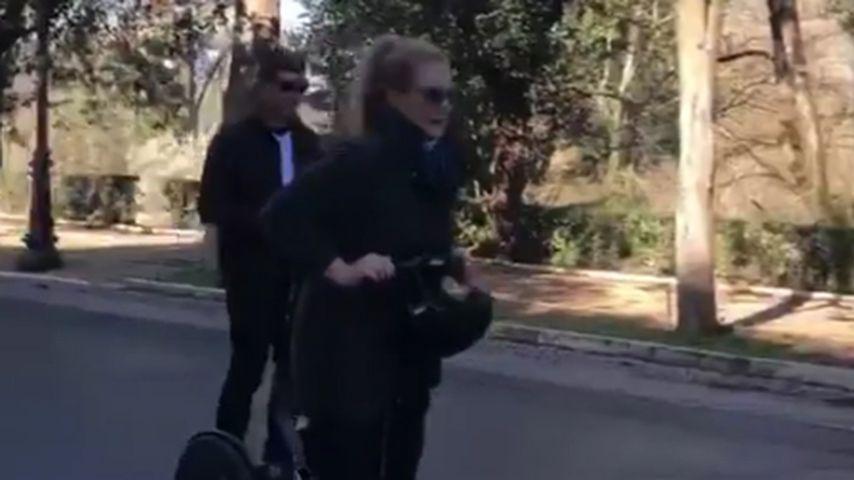 Chris Fischer und Amy Schumer auf ihrer Honeymoon-Reise in Italien