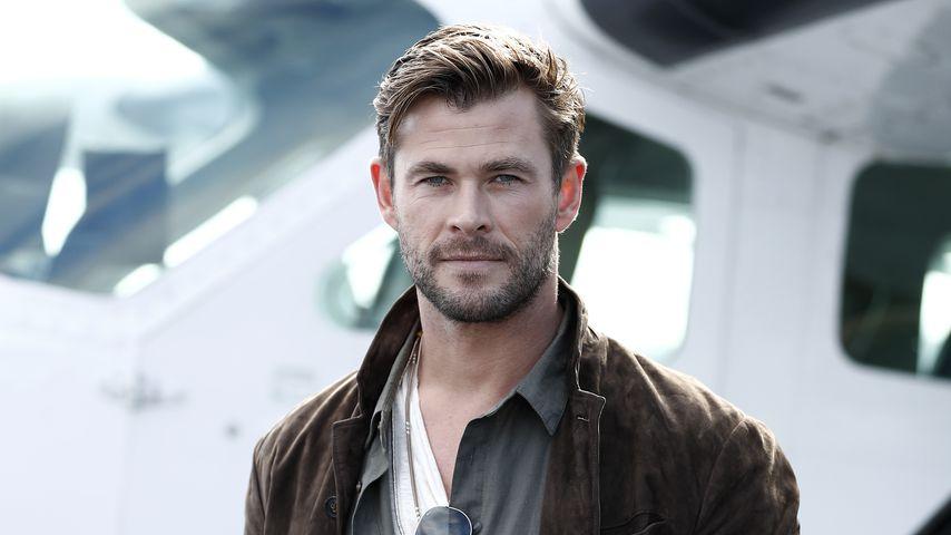 Kein Fan: Chris Hemsworths Ehefrau mag den Thor-Hammer nicht