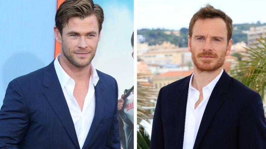 Ups! Chris Hemsworth mit Michael Fassbender verwechselt