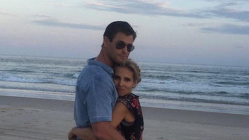 Chris Hemsworth und seine Elsa: Verliebt wie am ersten Tag