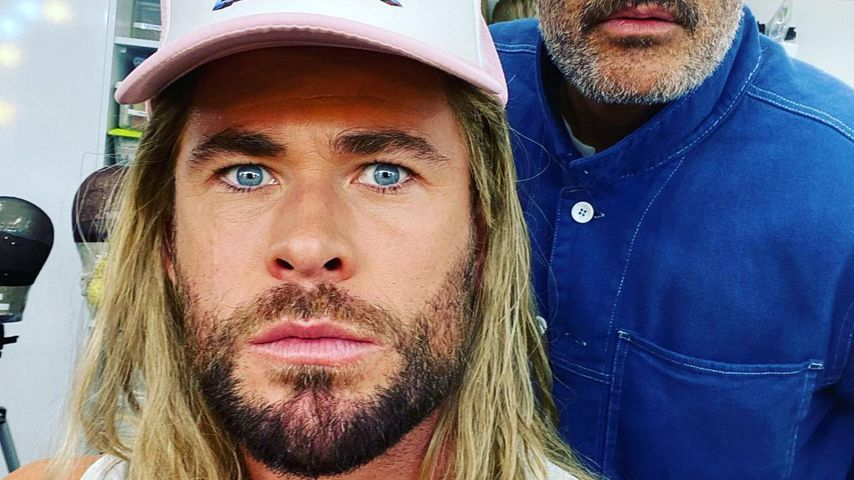 Chris Hemsworth und Taika Waititi