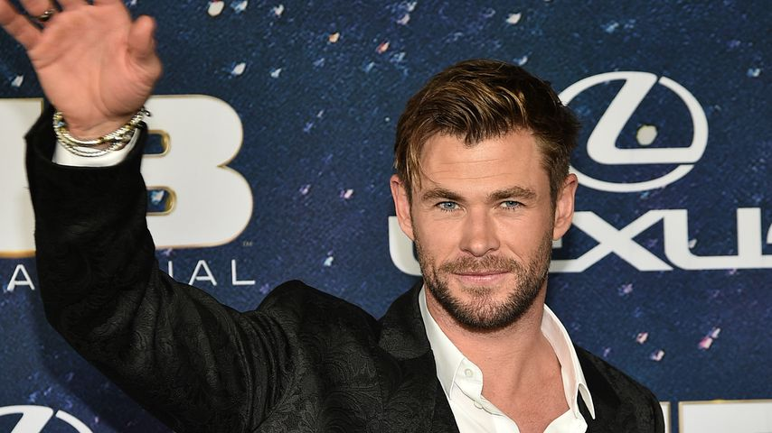 """Chris Hemsworth bei der Welt-Premiere von """"Men In Black: International"""" im Juni 2019"""