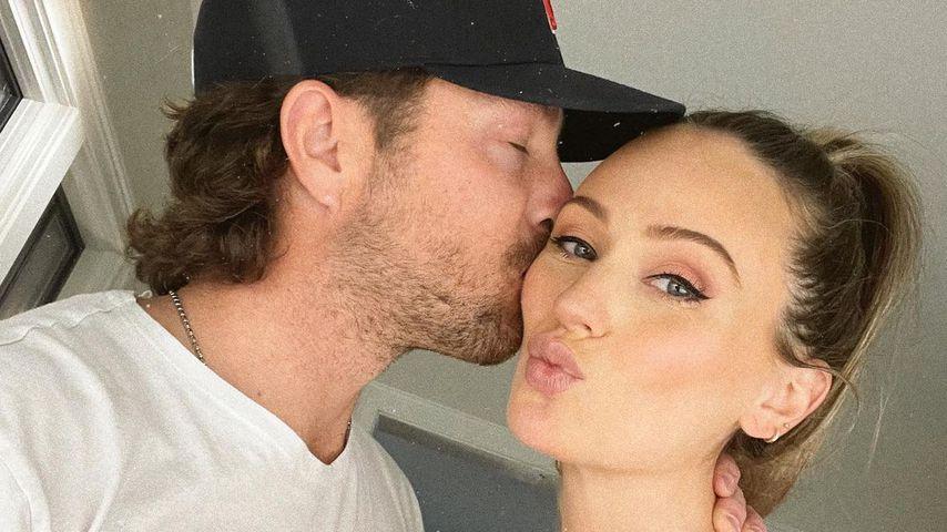 Lauren Bushnell mit ihrem Mann Chris