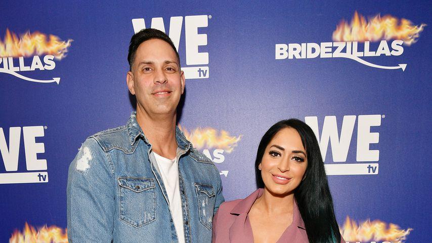 Chris Larangeira und Angelina Pivarnick im März 2019 in New York
