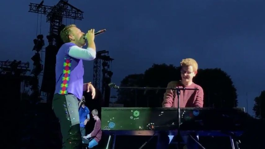Fan-Auftritt mit Coldplay: War das gar nicht so spontan?