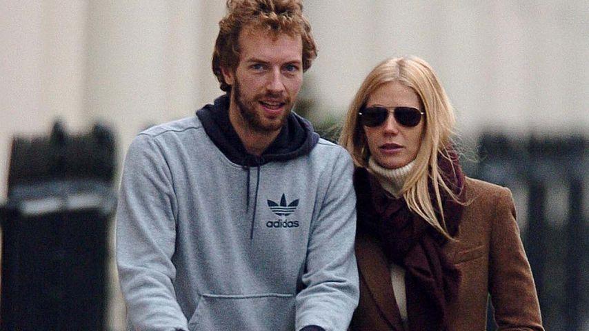 Chris Martin und Gwyneth Paltrow im Juli 2004 in London