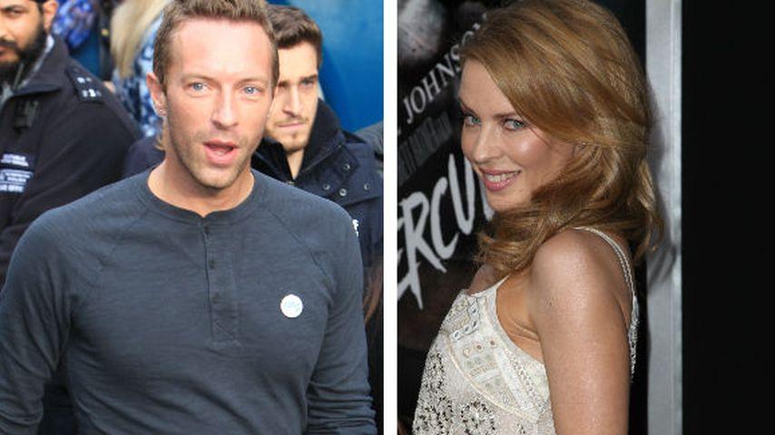 Neues Traumpaar? Chris Martin & Kylie Minogue Arm in Arm
