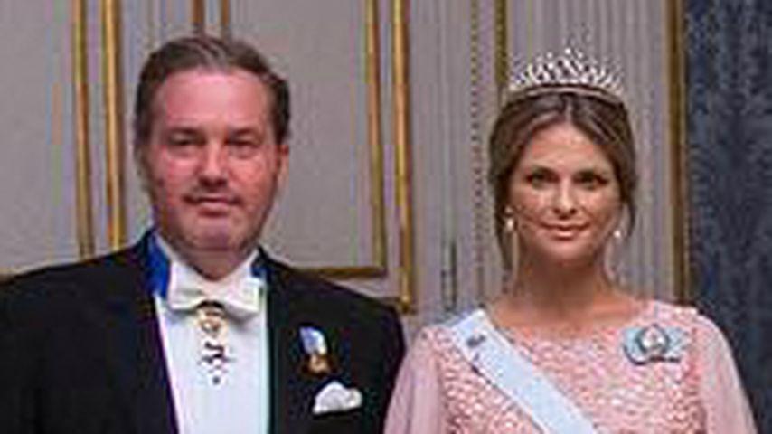 Chris O'Neill und Prinzessin Madeleine beim Nobelpreis-Empfang