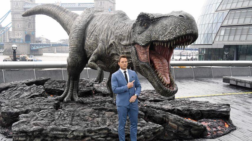 """Chris Pratt beim Photocall für """"Jurassic World: Fallen Kingdom"""""""