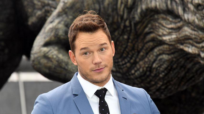 """Chris Pratt bei einem Pressetermin zu """"Jurassic World: Fallen Kingdom"""""""