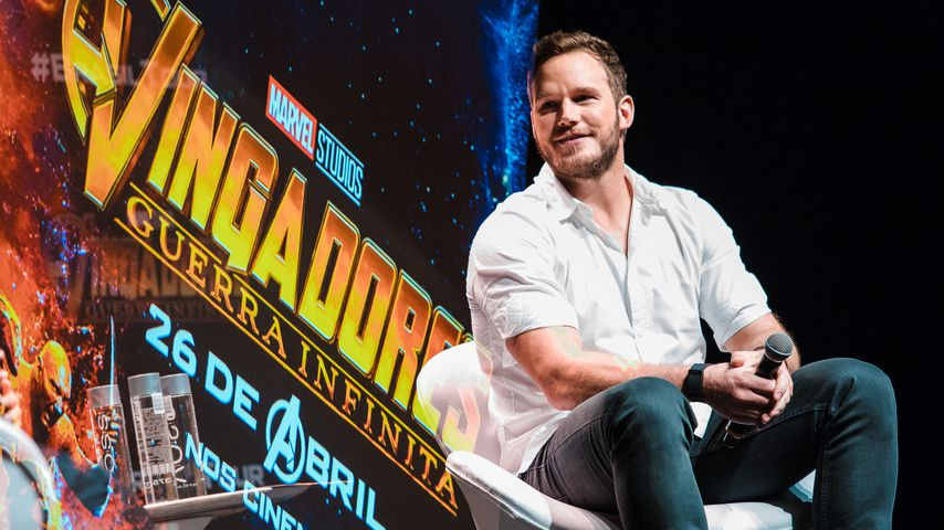 "Chris Pratt bei einem Fan-Event von ""Marvel's The Avengers"", 2018"