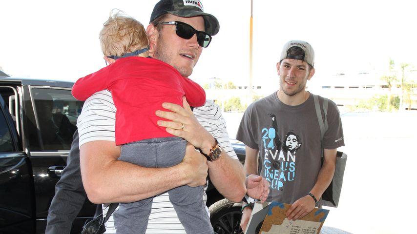 Chris Pratt und Jack Pratt
