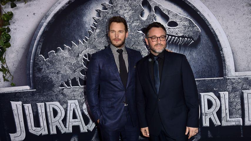 Chris Pratt und Colin Trevorrow