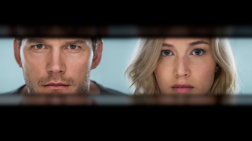 "Chris Pratt und Jennifer Lawrence in ""Passengers"""