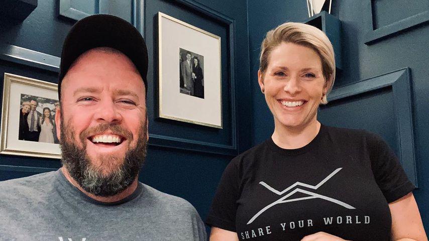 Chris Sullivan und seine Frau Rachel im Juni 2020