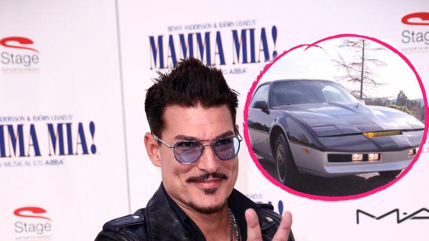 """Chris Töpperwien verkauft """"Knight Rider""""-Auto jetzt im Netz"""