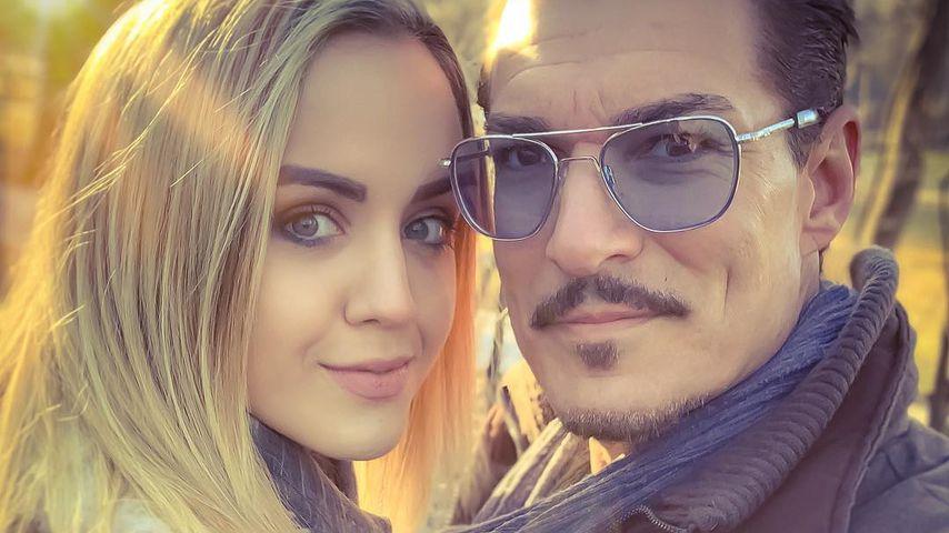 TV-Auswanderer Chris Töpperwien mit seiner Freundin Delia, April 2019