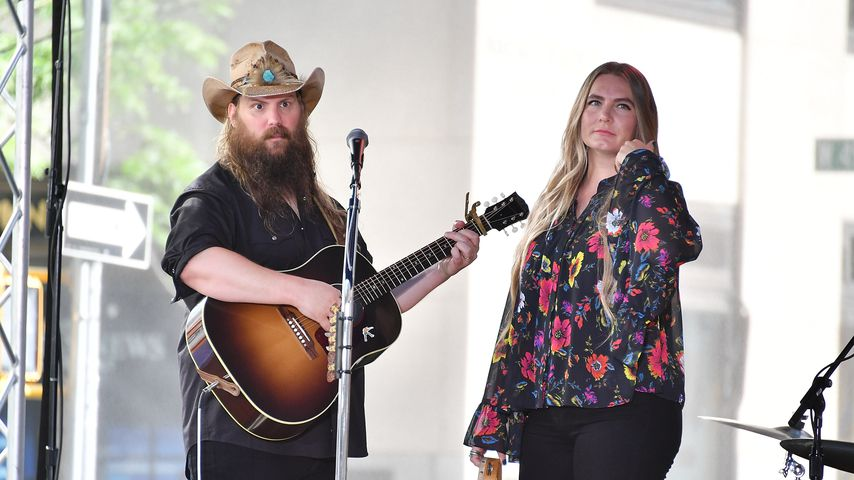 Chris und Morgane Stapleton im Juli 2018 in New York