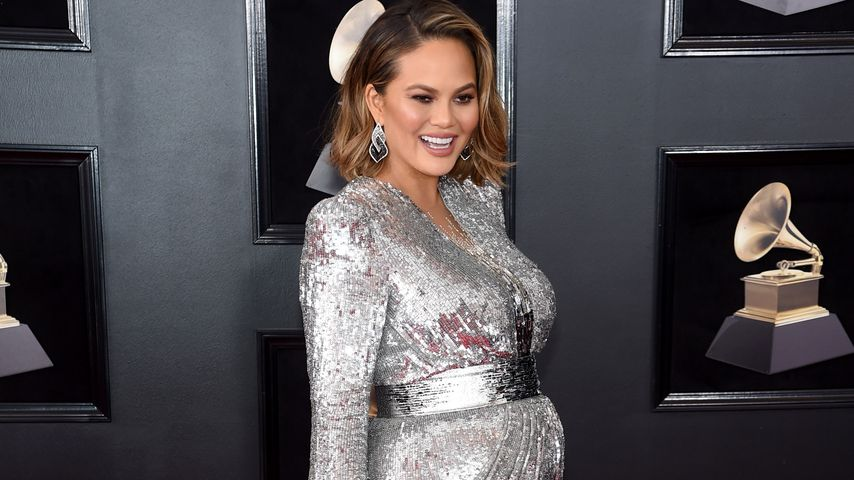 Chrissy Teigen bei den Grammy Awards 2018