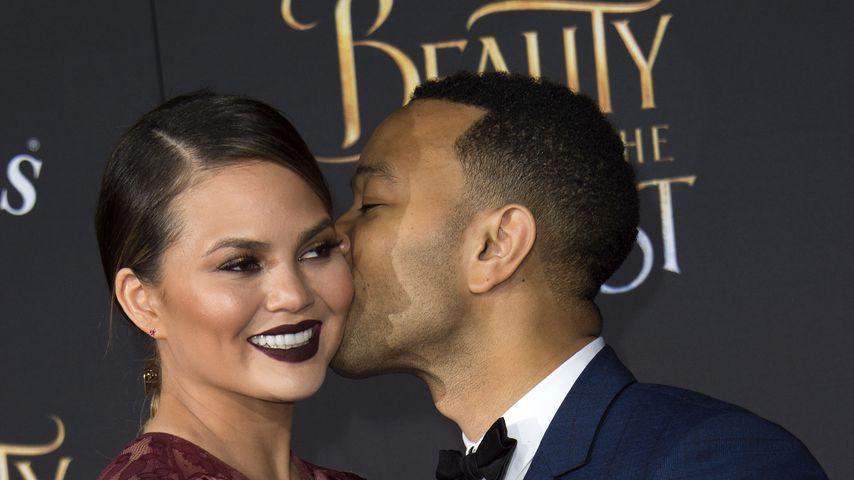 Chrissy Teigen und John Legend bei einer Filmpremiere in Hollywood