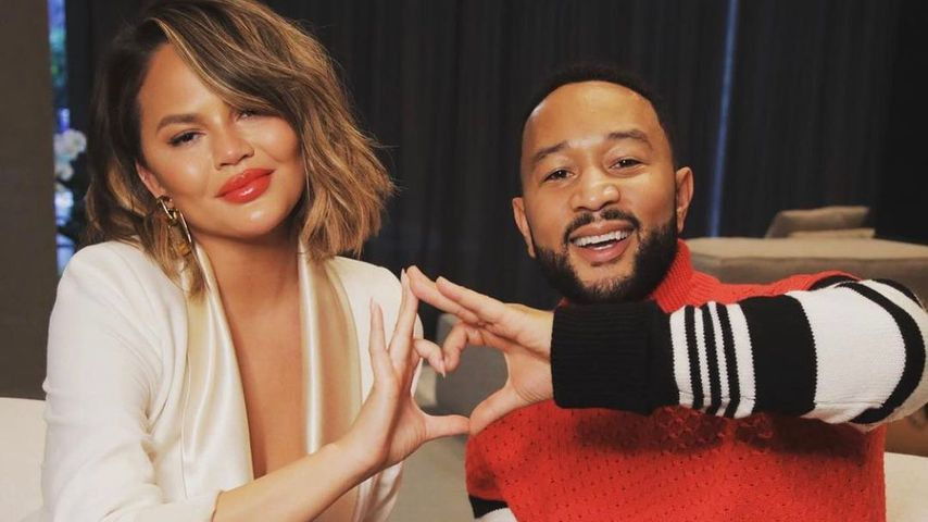 Chrissy Teigen und John Legend, November 2020