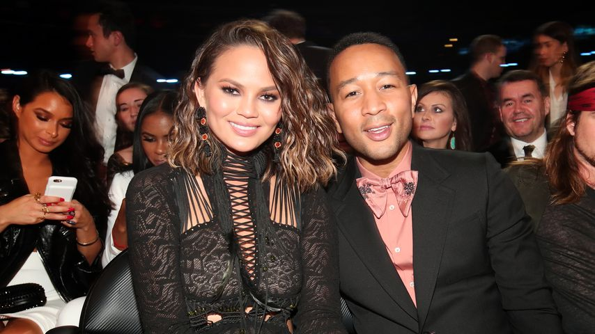 Chrissy Teigen und John Legend bei den Grammy-Awards 2017