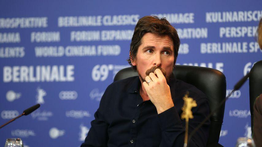 Christian Bale bei der Berlinale 2019