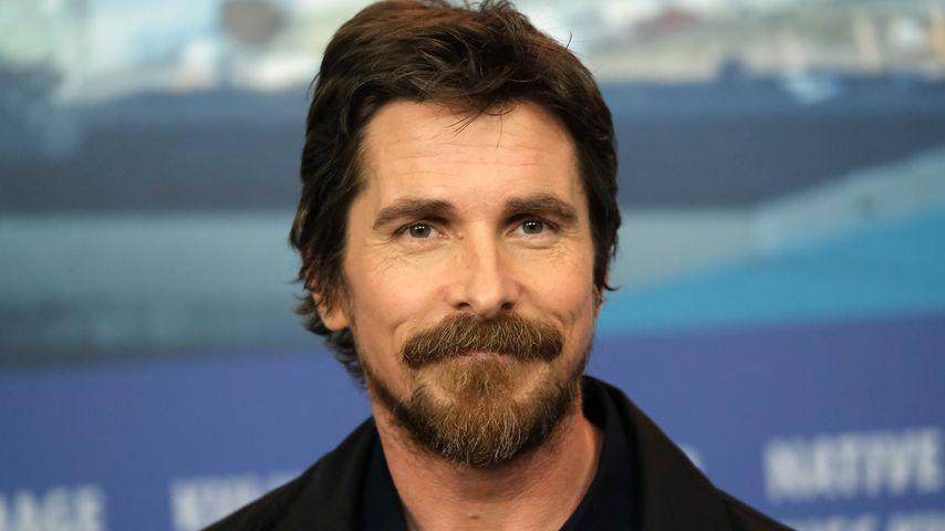 """Christian Bale auf der """"Vice""""-Pressekonferenz der Berlinale 2019"""