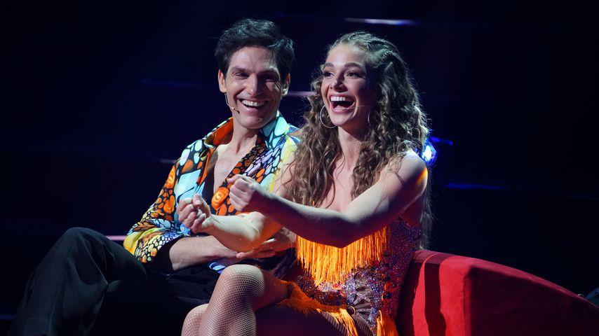 "Christian Polanc und Lola Weippert bei ""Let's Dance"""