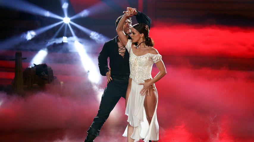"Christian Polanc und Vanessa Mai bei ""Let's Dance"" 2017"