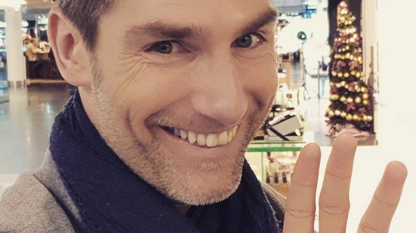 Christian Polanc am Flughafen in München im Dezember 2019