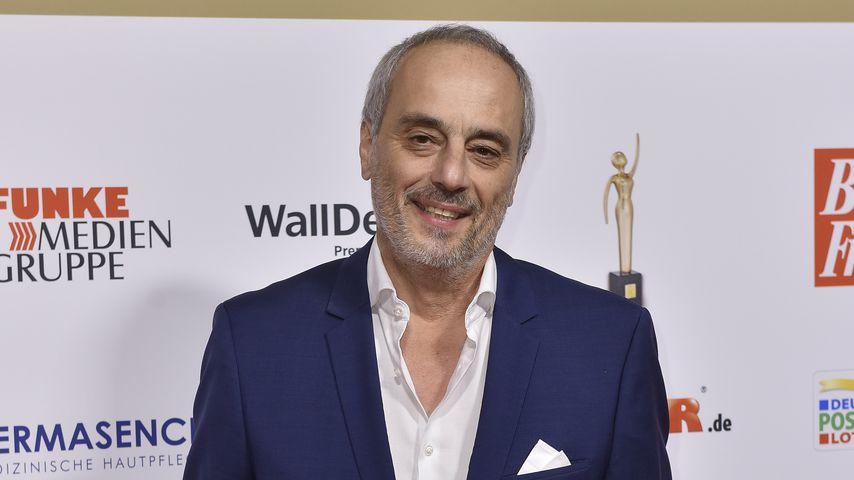 "Christian Rach bei der Verleihung der ""Goldenen Bild der Frau"""
