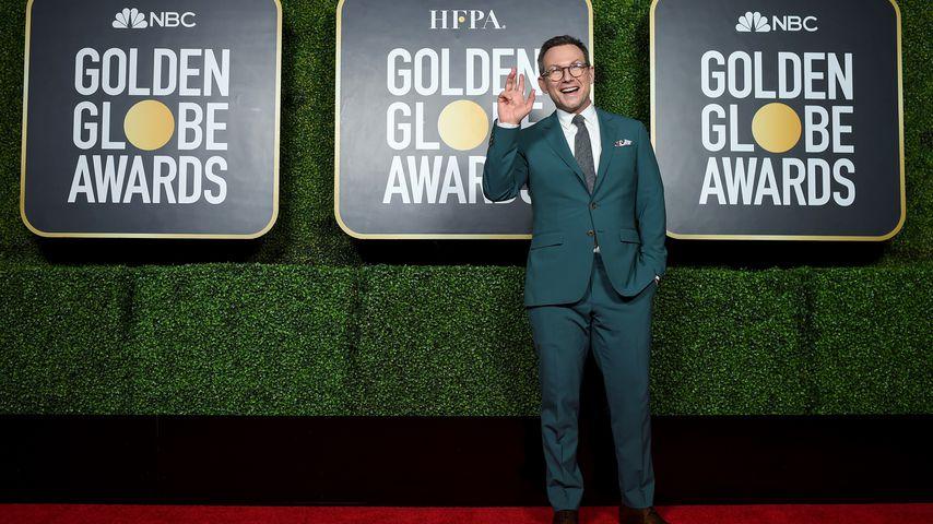 Christian Slater bei den Golden Globes in NYC im Februar 2021
