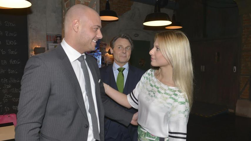 Christian Tews, Wolfgang Bahro und Valentina Pahde