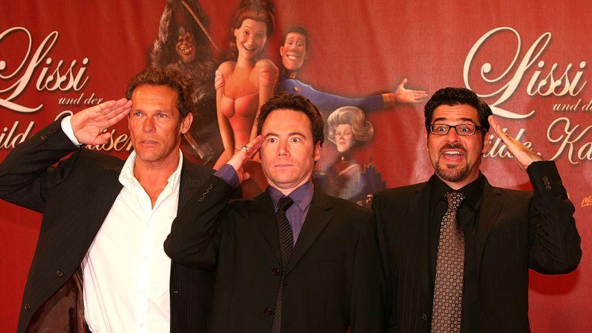 """Christian Tramitz, Bully Herbig und Rick Kavanian bei der """"Lissi und der wilde Kaiser""""-Premiere 2007"""