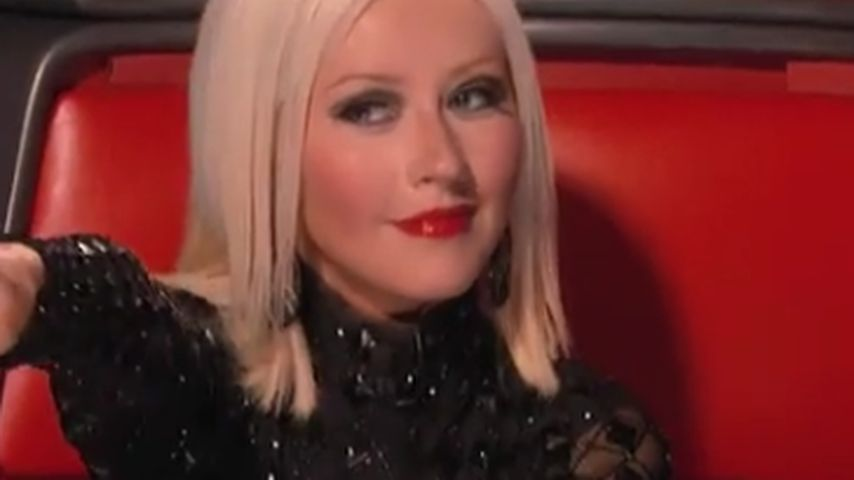 "Christina Aguilera: Sexy bei ""The Voice"" Premiere"