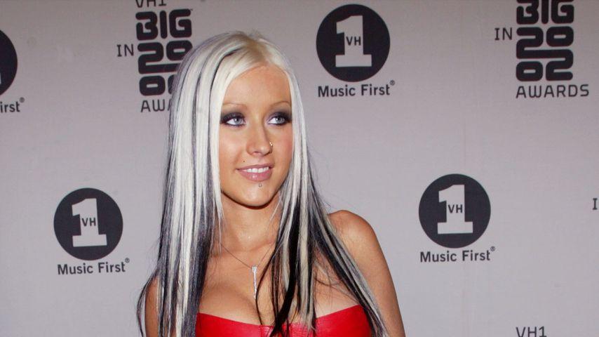 Christina Aguilera im Dezember 2002 in Los Angeles