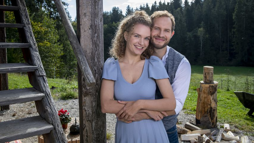"""Christina Arends und Arne Löber als Maja und Florian bei """"Sturm der Liebe"""""""