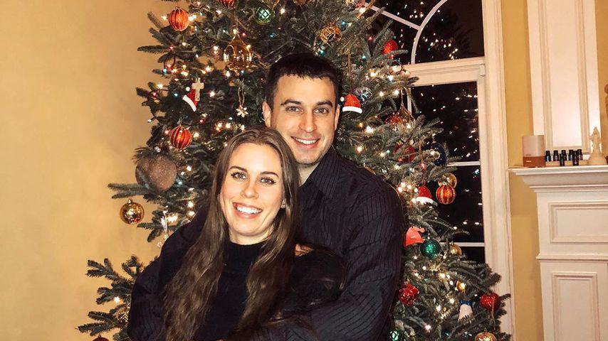 Christina Cimorelli und ihr Mann Nick Reali an Weihnachten 2019