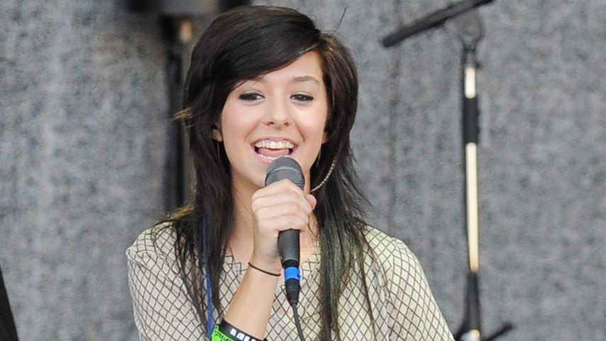 Christina Grimmie bei einem Auftritt im Jahr 2011