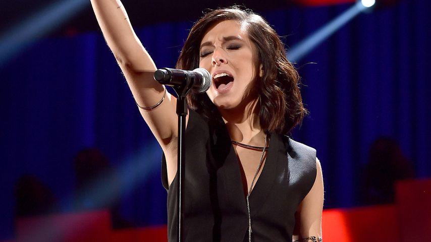 "Christina Grimmie beim ""iHeartRadio""-Festival, 2015"