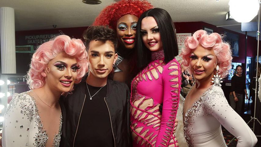 Spotted: Was macht YouTube-James Charles im GNTM-Publikum?