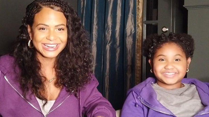 Christina Milian und ihre Tochter Violet