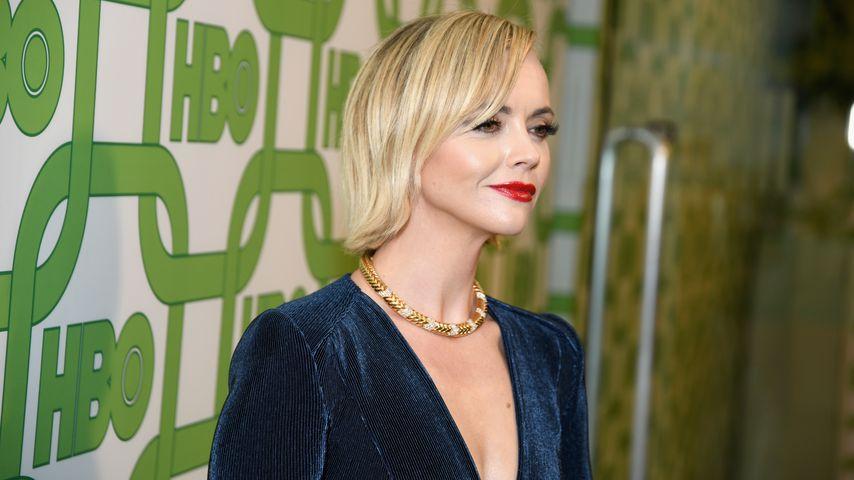 Christina Ricci bei den Golden Globes im Januar 2019