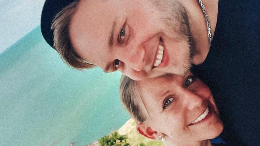 """Das """"Hochzeit auf den ersten Blick""""-Paar Christina und Marcel während der Flitterwochen"""